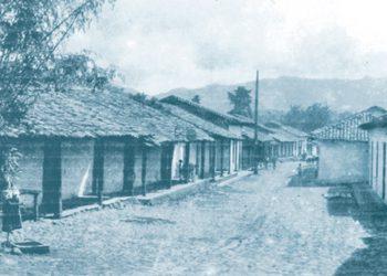 Barrio Los Horcones en La Plazuela, antiguo barrio tegucigalpense.