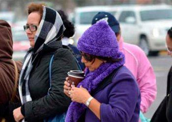 Recomiendan a la población evitar sobreexponerse al frío y utilizar abrigo sobre todo los ancianos y niños.