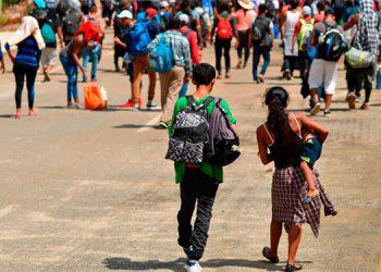 Más de un 19 por ciento de menores optaron por dejar los estudios para emigrar  de forma ilegal a Estados Unidos.