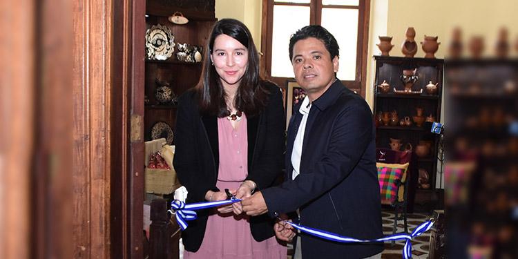 Paloma Rodríguez y Héctor Portillo.