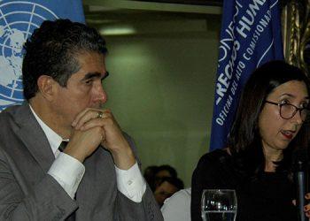 El informe de seguimiento fue presentado ayer por Soledad Pazo, alta comisionada de las Naciones Unidas para los DD.HH.