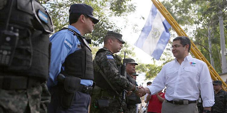 La reducción en los índices de violencia es el resultado de las políticas de seguridad implementadas por el Presidente Juan Orlando Hernández.