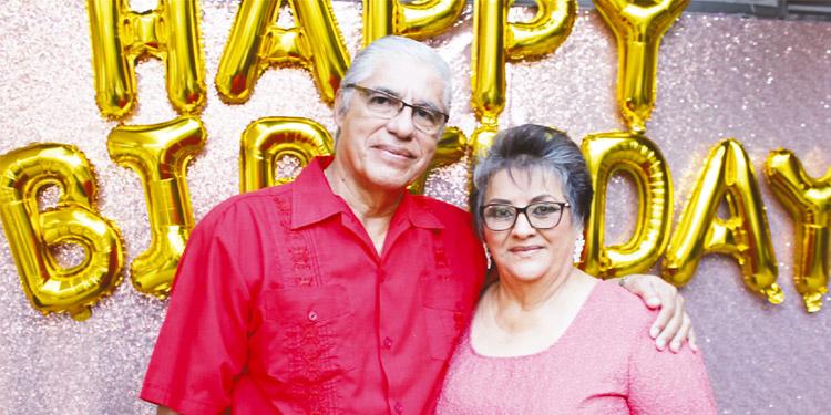 Jorge Roberto Maradiaga y Yadira Ortega de Maradiaga.
