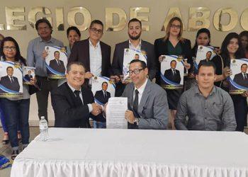 El abogado Olbin Sarmiento busca nuevamente quedarse con la presidencia del CAH.