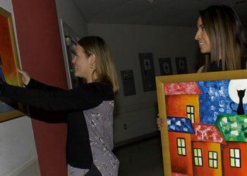 Artistas de diferentes tallas colgarán 180 nuevas obras de arte en el Hospital María de Especialidades Pediátricas.