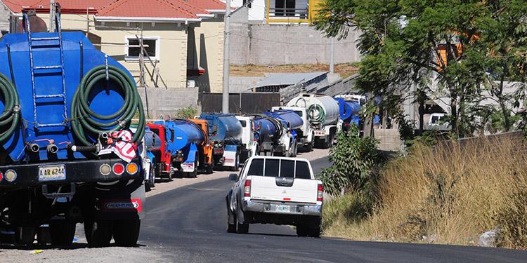 El programa de distribución de agua en la capital se hará mediante cuadrantes para que esta sea equitativa.