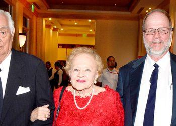 Fernando Lardizábal, Katherine Lardizál y Douglas Lardizábal.