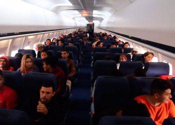 Más de 400 compatriotas retornaron ayer al país en 12 buses de conducciones rutinarias, provenientes de distintas ciudades de México.