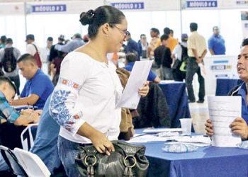 En la capital se espera entre 1,200 a 1,400 personas solicitantes de empleo en la Secretaría de Trabajo.