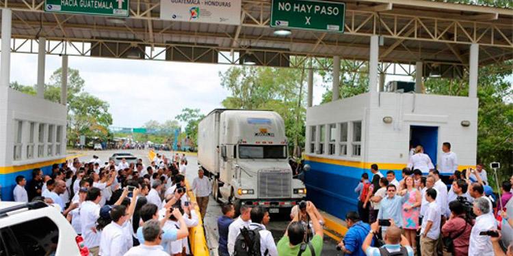 Comercio de Honduras hacia Guatemala aumenta 7.1por ciento entre 2018 y 2019.