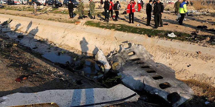 Avion ucraniano derribado.