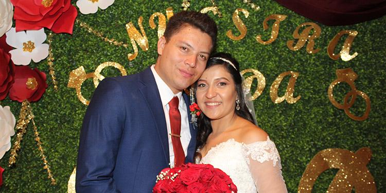 Rubén Emilio Galindo y Dariela Nazzaeth Salgado.