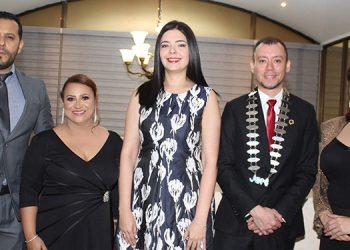 Enrique Sandoval, Katya Gallo, Pamela Chávez, Luis Castellanos, Heydi Sánchez.