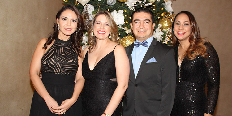 Valery Seaman, Fabiola Güell, José Maradiaga, Anna Karina Durón.