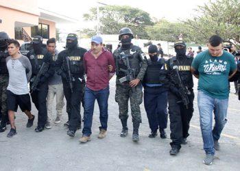 Investigaciones policiales señalan que los cuatro individuos venían imponiendo el terror en el municipio de Lepaterique y alrededores.