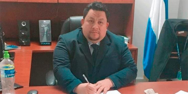 Alan Edgardo Argeñal Pinto, director de la Didadpol.