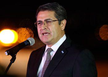 Presidente Hernández destaca la lucha contra el narcotráfico pese a la pandemia