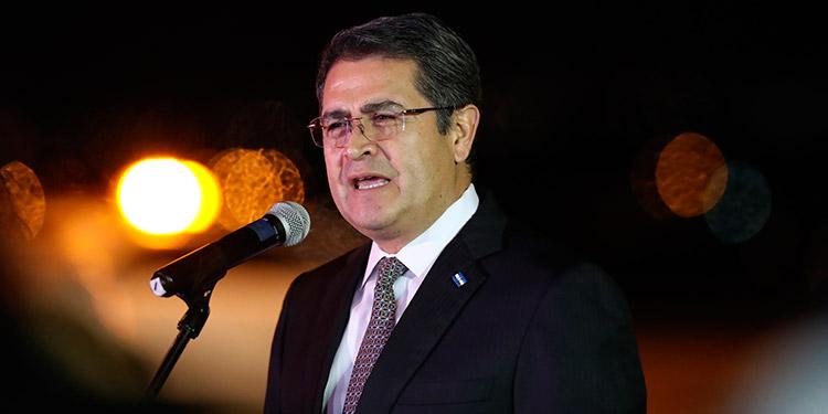 Presidente Hernández destaca la lucha contra el narcotráfico pese a la pandemia (Video)
