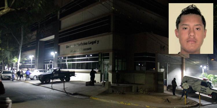 El cadáver de Ángel Salvador Ortiz Almendárez (foto inserta) ayer seguía ingresado en la morgue capitalina a la espera de ser reclamado por sus parientes cercanos que residen en Panamá.