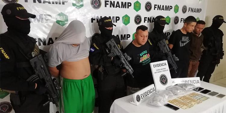 """En la redada de """"mareros"""" fue capturado Stephen Joshua Montenegro Cárcamo y otros sujetos que son incriminados de ser recolectores de la MS-13."""