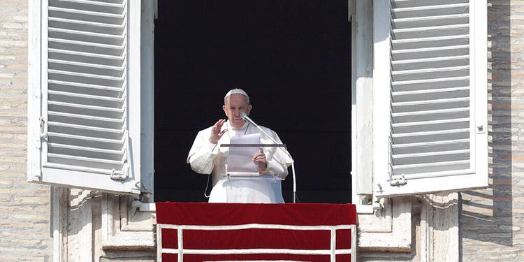 El papa reza por México tras un fuerte sismo