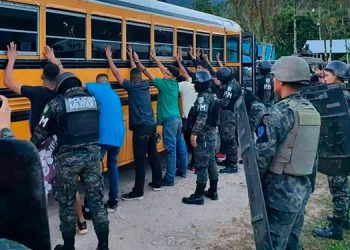 Para realizar las distintas operaciones de seguridad ciudadana Fusina contó con el apoyo de todas las fuerzas policiales y militares.