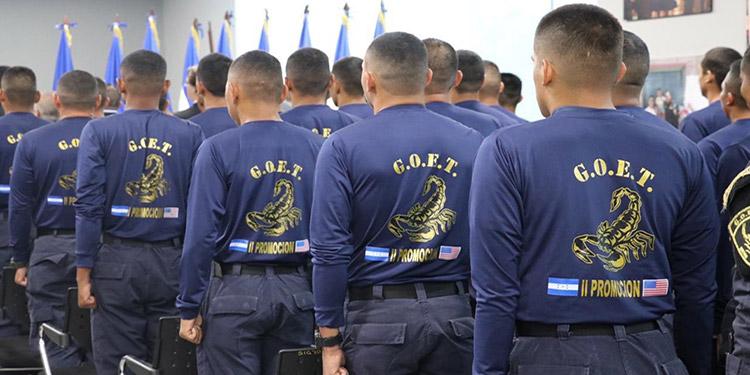 Los policías de fronteras participan en los operativos a lo largo de la frontera con Guatemala.