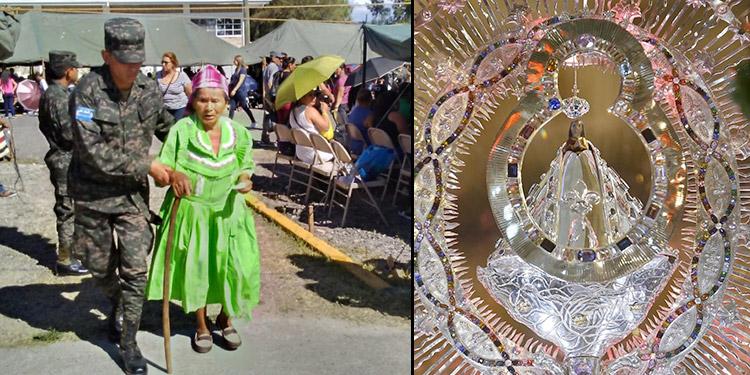 La virgen de Suyapa ha sido venerada por millones de devotos cada año.