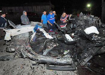 Según la Dirección Nacional de Viabilidad y Transporte, el exceso de velocidad es la principal causa de los accidentes de tránsito.