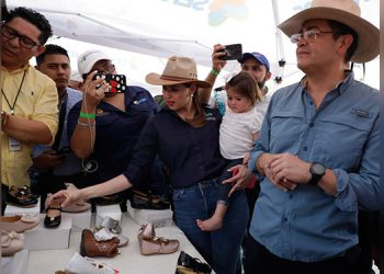 El mandatario Juan Orlando Hernández, animó a los emprendedores a redoblar esfuerzos para llevar sus productos a los más alto.