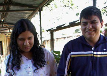 Olvin Milla Martínez y Scarleth Nicolle Rodríguez Velis aseguraron que se van a casar porque se aman de verdad.