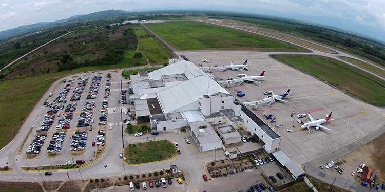Aeropuerto Ramón Villeda Morales, San Pedro Sula.