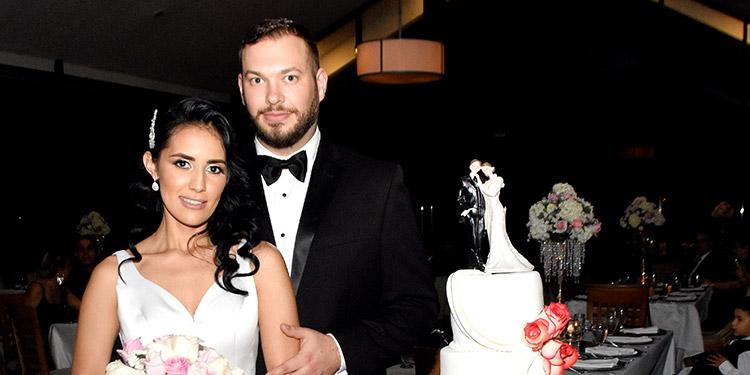 Marcela Betancourth y Connor Snitker.