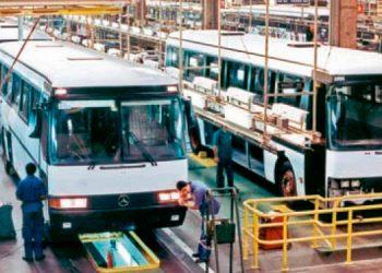Los 120 buses para la capital de Honduras ya están siendo construidos en la fábrica de Sao Paulo, Brasil.