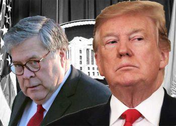 Bill Barr y Trump