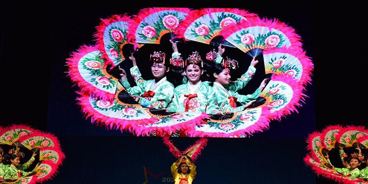 Con la participación de jóvenes de diferentes países los hondureños aprendieron de otras culturas.
