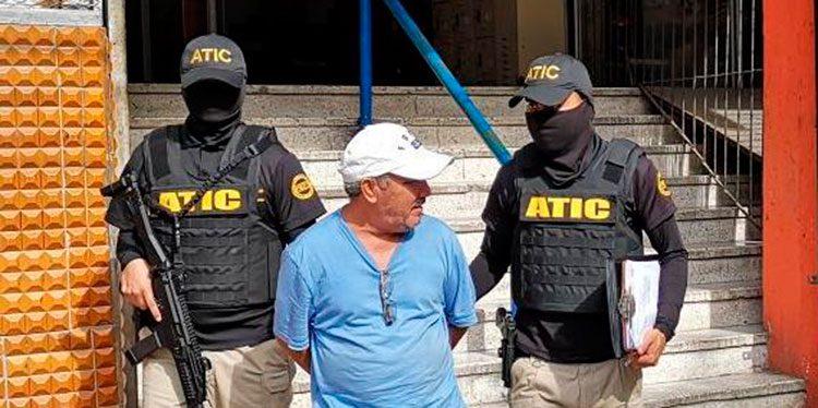Raúl Edgardo Sandoval Centeno fue capturado por la ATIC en el 2018.