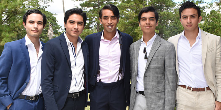 David Laitano, Diego Aguilar, Luis Moncada, Marcelo Madrid, David Elvir.