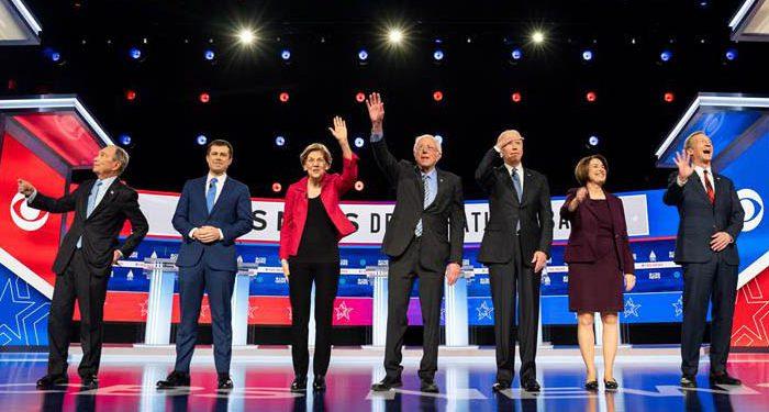 Debate demócrata en Carolina del Sur.