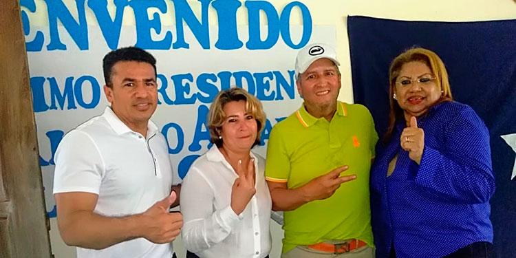 La exjueza está segura que llegará a la silla por la corriente de Ricardo Álvarez.