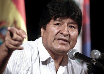 Evo es inhabilitado a ser candidato a senador en Bolivia