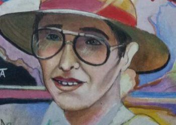 Kawas fue retratada por el pintor hondureño Napoleón Villalta.