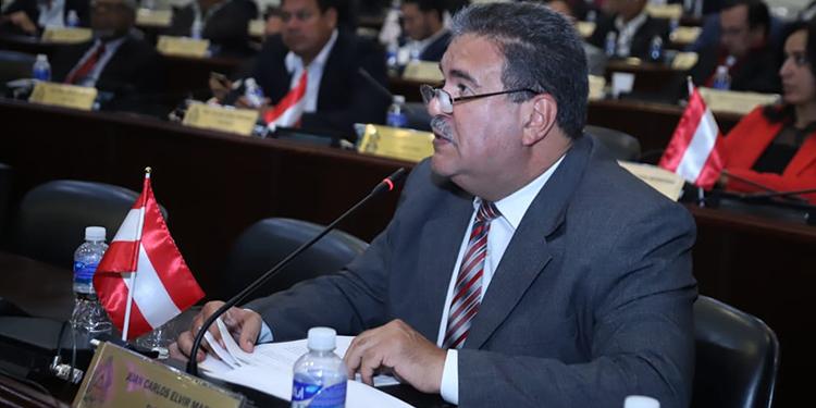 Juan Carlos Elvir, diputado por Copán.