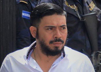 """Jairo Orellana alias """"Kawas"""" es el mandamás de  la MS-13 y ayer fue llevado al Tribunal, para continuar con el juicio en su contra."""