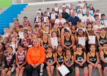 El fin de semana se realizó la clausura de la Liga de Minibaloncesto Hermanas Murillo.