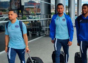 Omar Elvir, Marlon Licona y Marcelo Pereira viajaron seguros que sacarán el resultado que los clasifique a la siguiente ronda.
