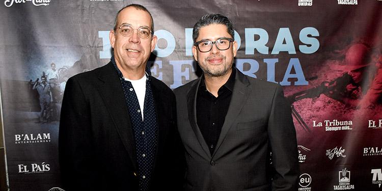 Raúl Agüero y Alejandro Irías.
