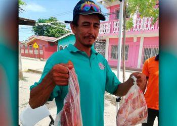 Actualmente la red de pescadores cuenta con la asistencia técnica de Ayuda en Acción.