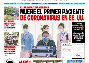 MUERE EL PRIMER PACIENTE DE CORONAVIRUS EN EE. UU.