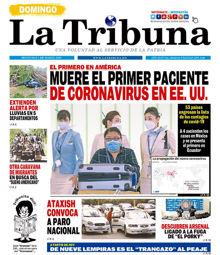 MUERE EL PRIMER PACIENTE DE CORONAVIRUS EN EE. UU
